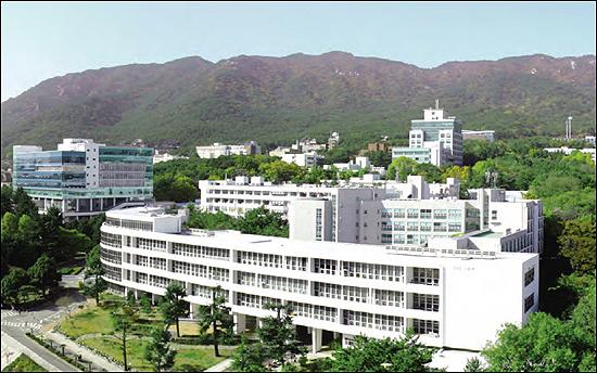 Khuôn viên Đại học Quốc gia Pusan Hàn Quốc