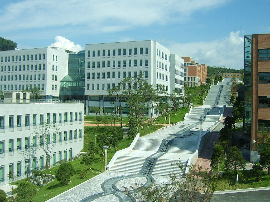 ảnh trường đại học Dankook Hàn Quốc