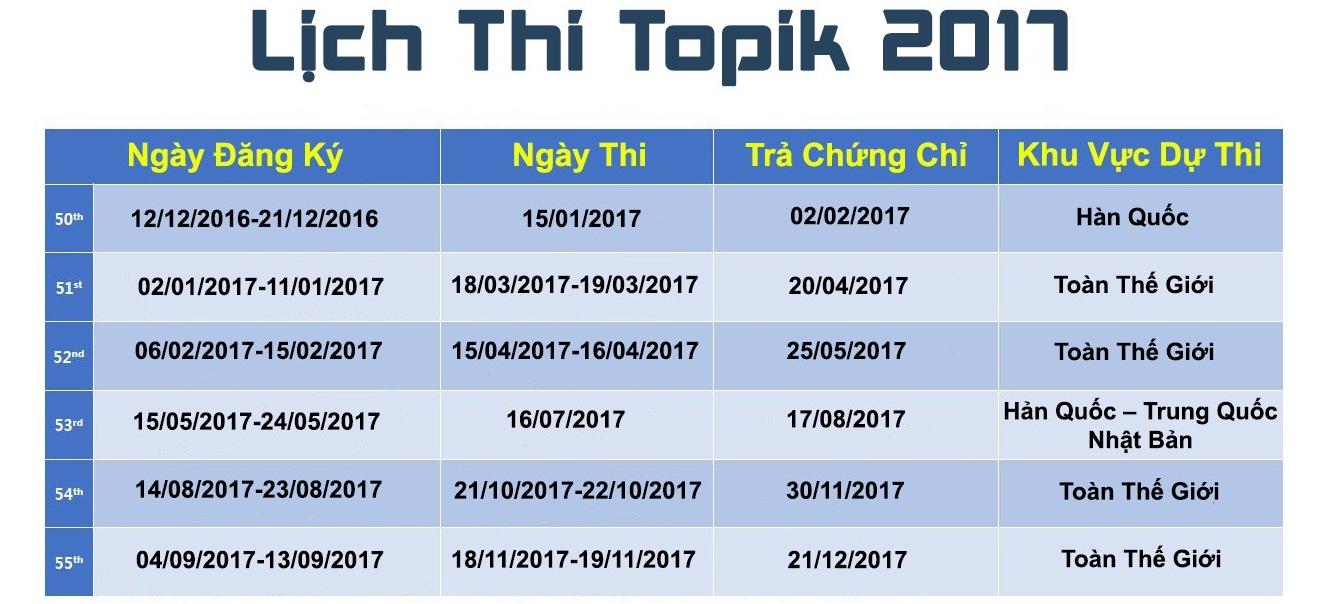 lich-thi-tieng-han-topik-2017