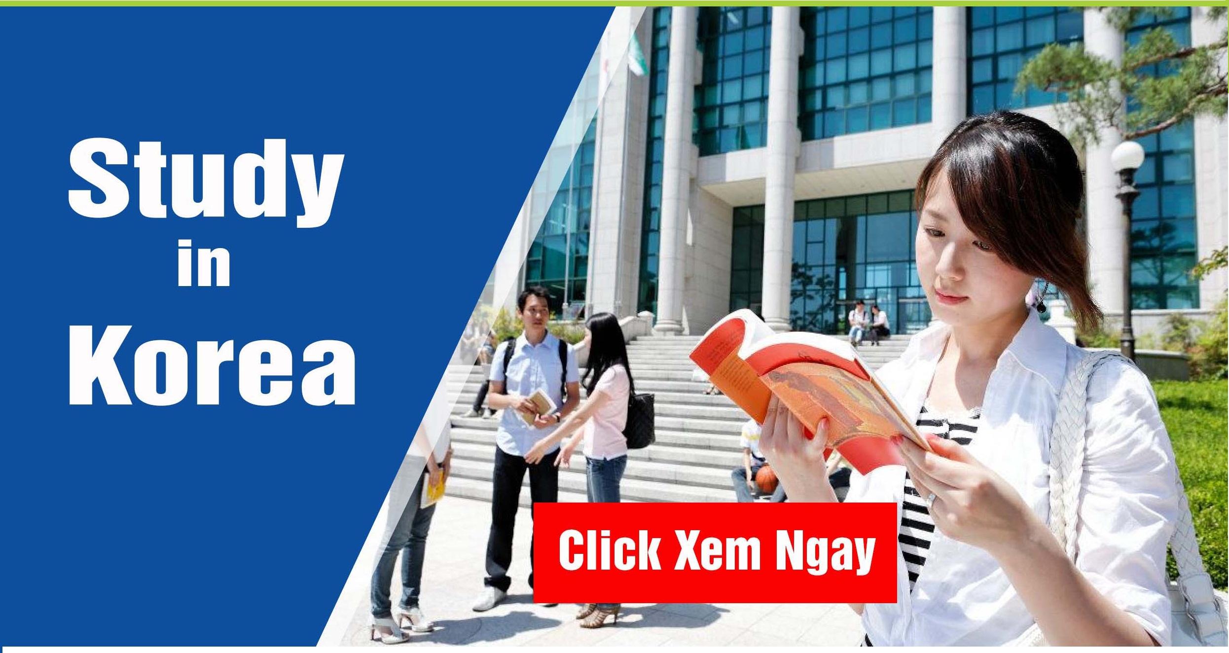 Các bước tham gia đi du học Hàn Quốc chuẩn nhất