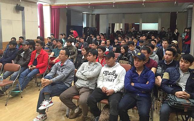 lao động cư trú bất hợp pháp tại Hàn Quốc đã hồi hương