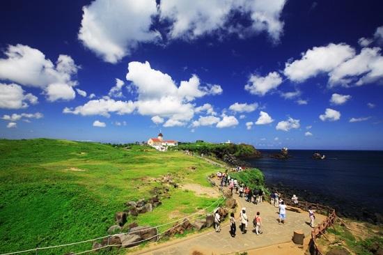 thiên đường du lịch đảo jeju