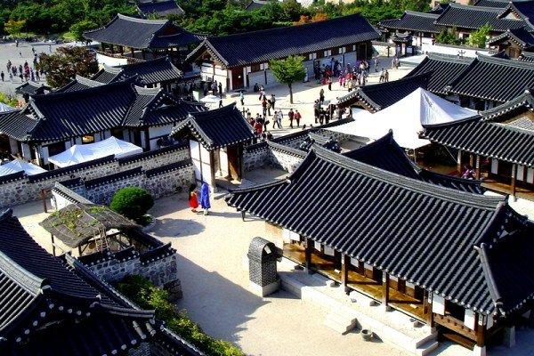 Làng cổ Hanok Namsan Hàn Quốc