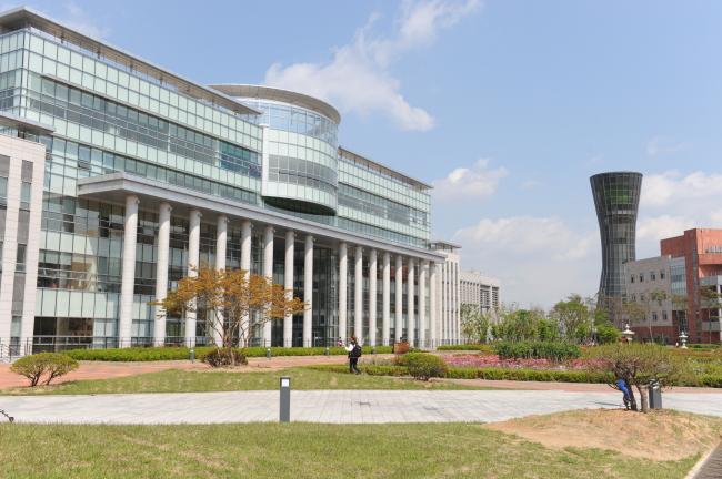 Khuôn viên trường đại học Incheon
