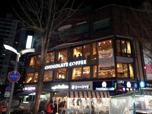 Khu phố coffee Hàn Quốc
