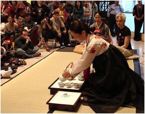 Văn hóa uống trà của người Hàn Quốc