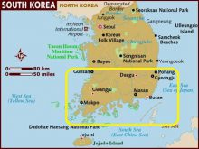 miền nam Hàn Quốc