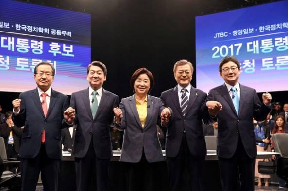 5 ứng cử viên tranh cử tổng thống nhiệm kỳ thứ 19 của Đại Hàn Dân Quốc.