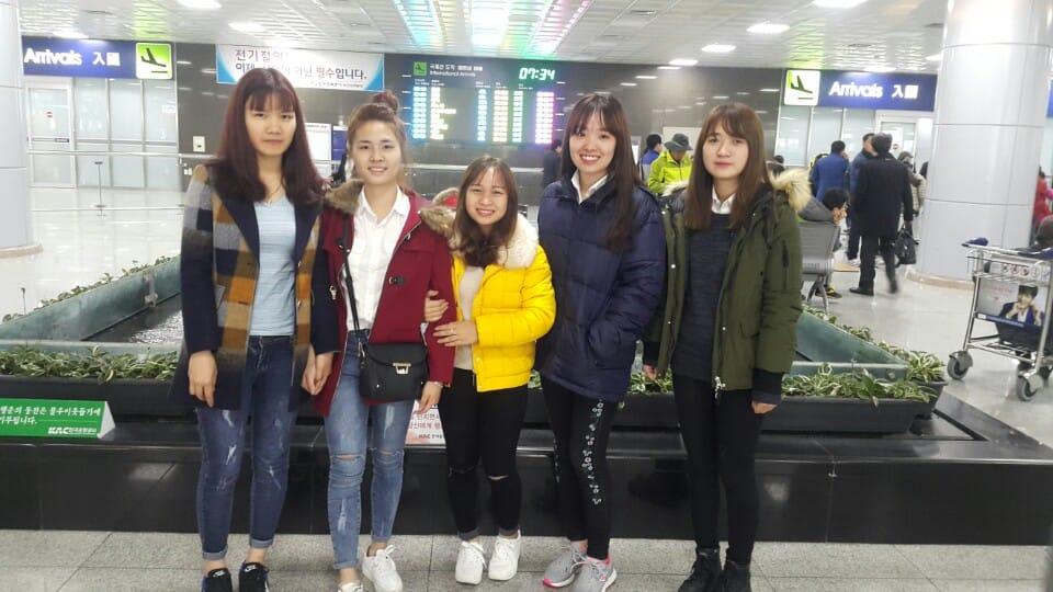 Sinh viên du học Hàn Quốc