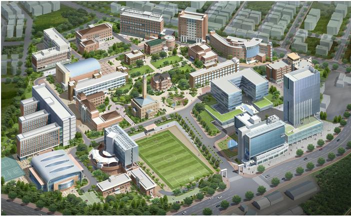 Khuôn viên trường Đại họcPyeongtaek