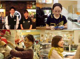 Hình ảnh du học sinh làm thêm ở Hàn