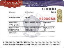 Du học Hàn ảnh mẫu Visa D2 Quốc Visa D2