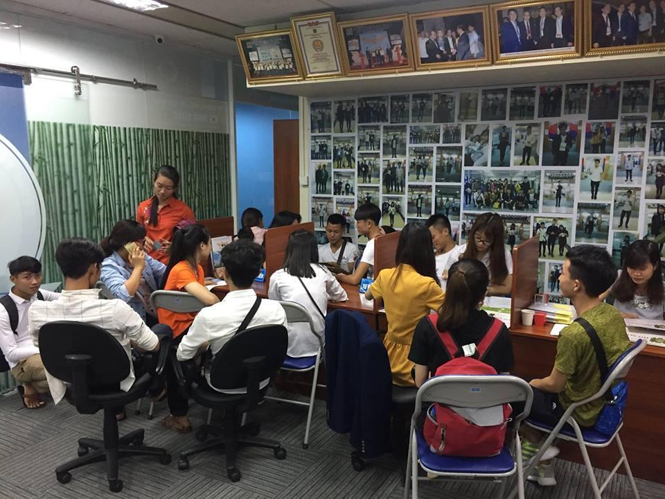 Công ty du học Hoàng Gia luôn được các bạn trẻ đến để được tư vấn du học Hàn Quốc