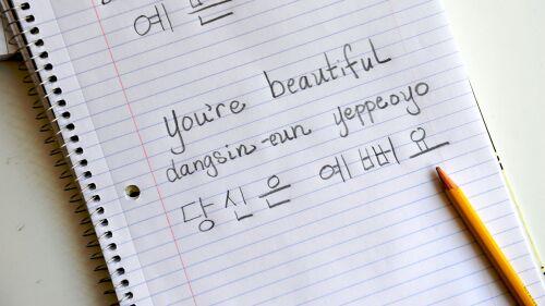 3 cách để viết tiếng Hàn hiệu quả nhất