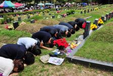 Ngày lễ tạ ơn Chuseok - Lễ tảo mộ ở Hàn Quốc