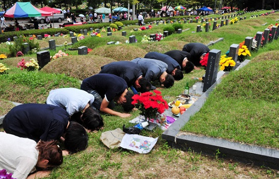 Lễ tảo mộ ở Hàn Quốc