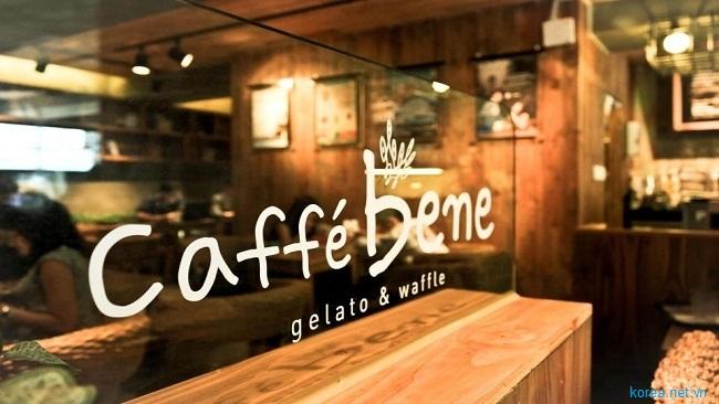 Chuỗi cafe số 1 tại Hàn Quốc Caffe Bene cũng đã có mặt tại Việt Nam