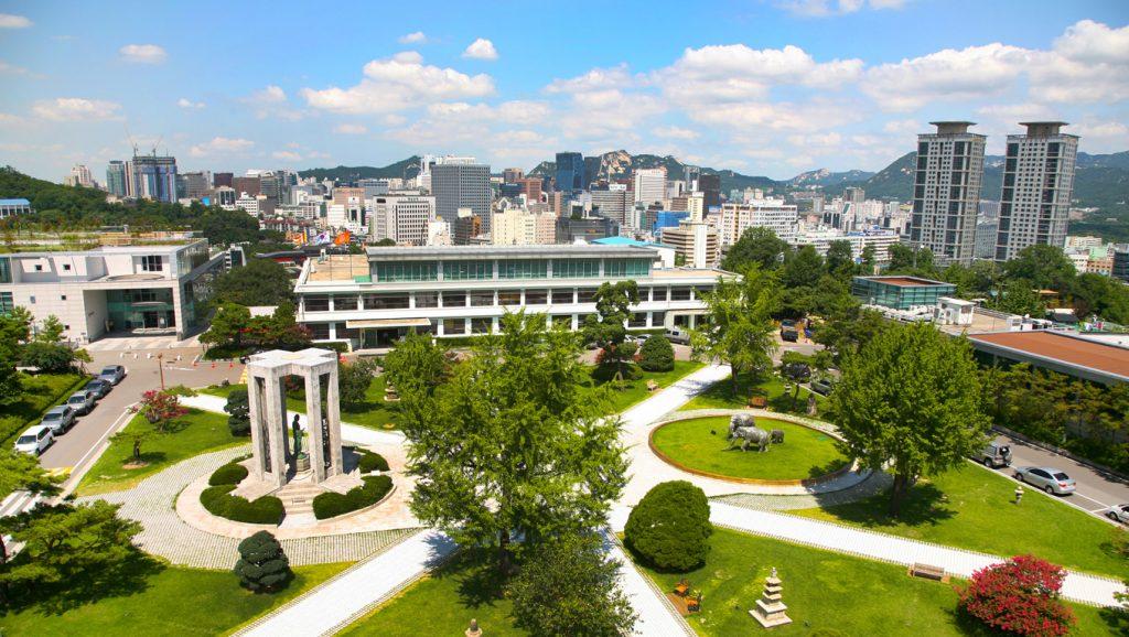 Khuôn viên trường đại học Dongguk