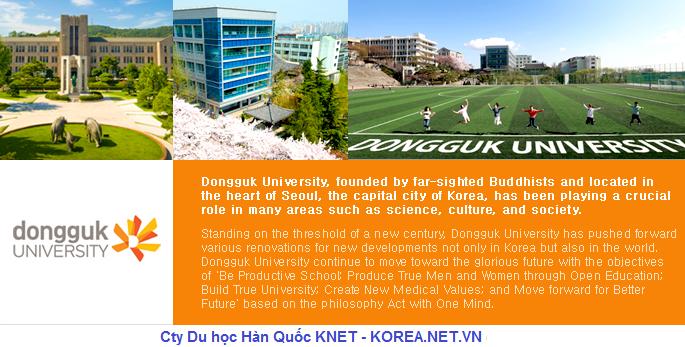 Hình ảnh trường đại học Dongguk