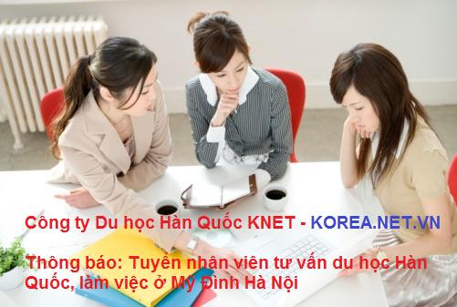 Tuyển nhân viên tư vấn du học Hàn Quốc