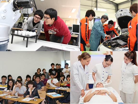 du học CAO ĐẲNG NGHỀ ở Hàn Quốc