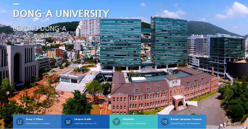 Các khóa học tiếng Hàn ở trường đại học Busan được đánh giá cao
