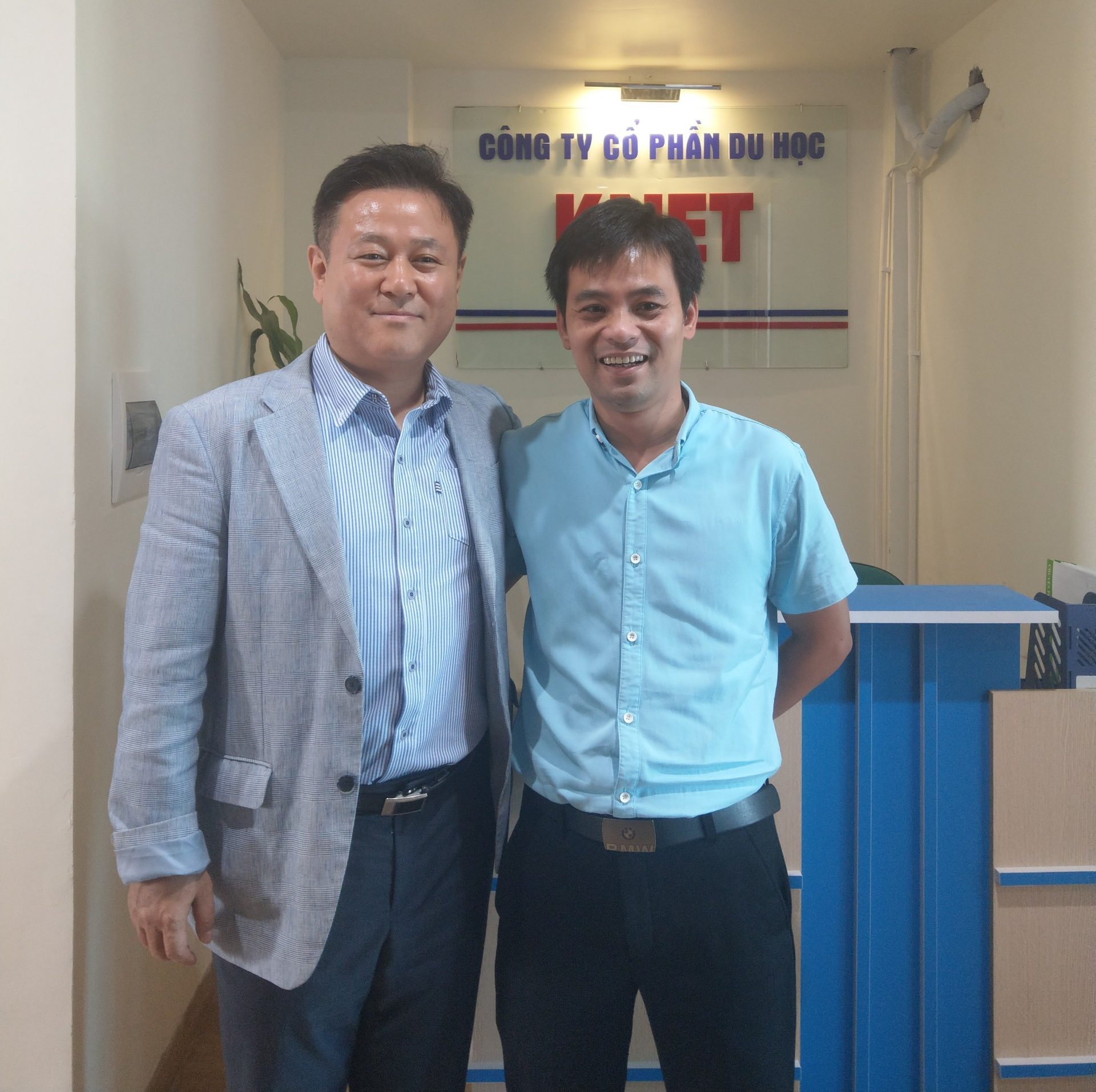 KNET vinh dự được giáo sư trường Kyonggi tới thăm quan và tuyển sinh năm 2019