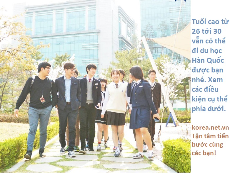 Du học Hàn Quốc Tuổi Cao