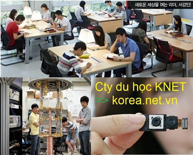 Du học sinh ở Hàn Quốc học điện, điện tử