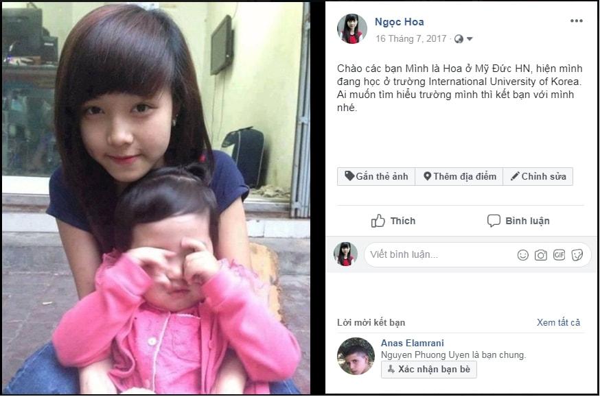 Nguyễn Ngọc Hoa chia sẻ bài viết Du học Hàn Quốc chỉ 100 triệu đồng