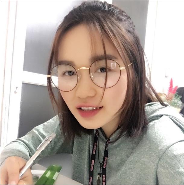 Ảnh Lê Thị Khánh Ly xinh gái (cựu du học sinh trường JoongBu University)