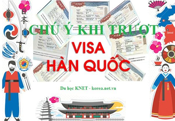 trượt visa du học Hàn