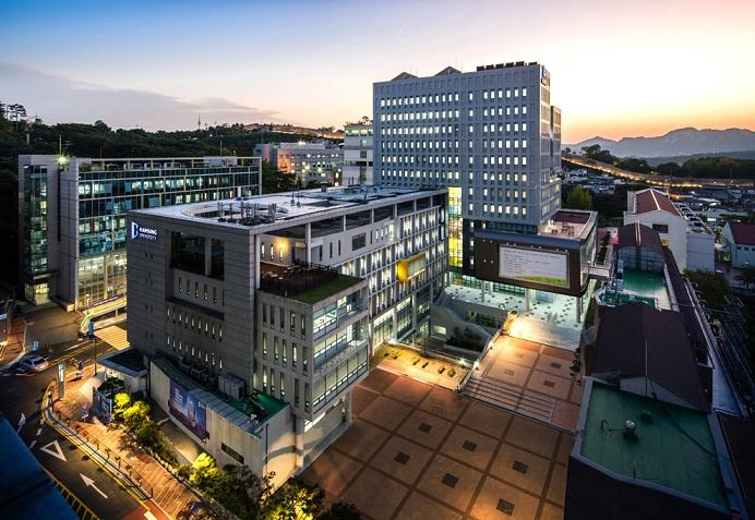 Khuôn viên trường đại học Hansung