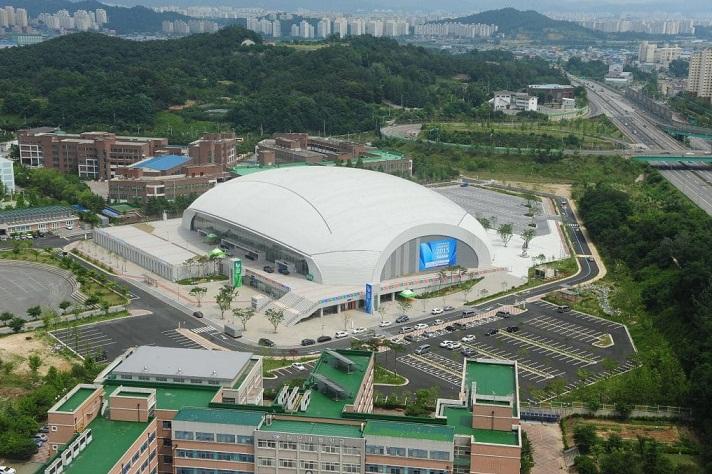 Toàn cảnh khuôn viên Đại học nữ sinh Kwangju