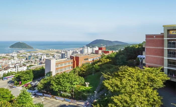 Toàn cảnh trường Đại học Kosin