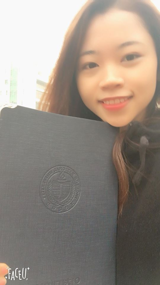Nguyễn Hải - tân sinh viên trường đại học Incheon