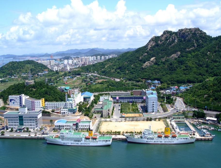 Khuôn viên trường Đại học Hàng Hải Mokpo