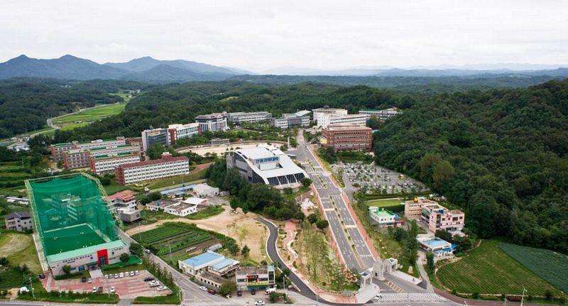 Toàn cảnh Trường cao đẳng Andong