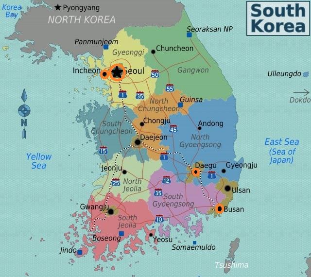 Vị trí 4 Tthành phố được du học sinh Việt chọn học t nhiều nhất ở Hàn Quốc