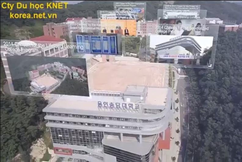 Toàn canh khuôn viên trường cao đẳng Yong-In Songdam