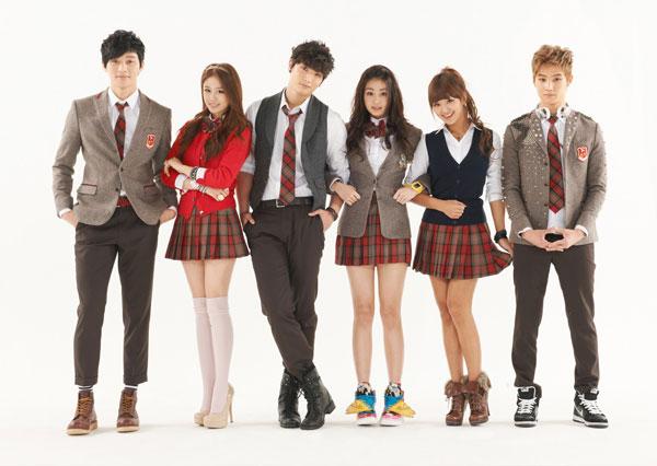 Đồng phục của học sinh Hàn Quốc