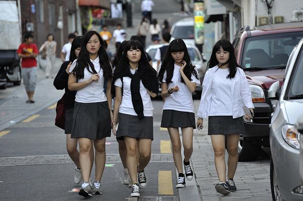 Đồng phục phổ biến nhất tại Hàn