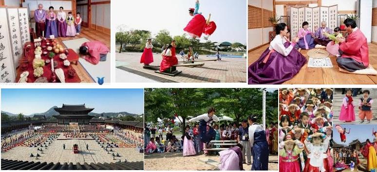 Tết truyền thống (tết âm lịch) của người Hàn