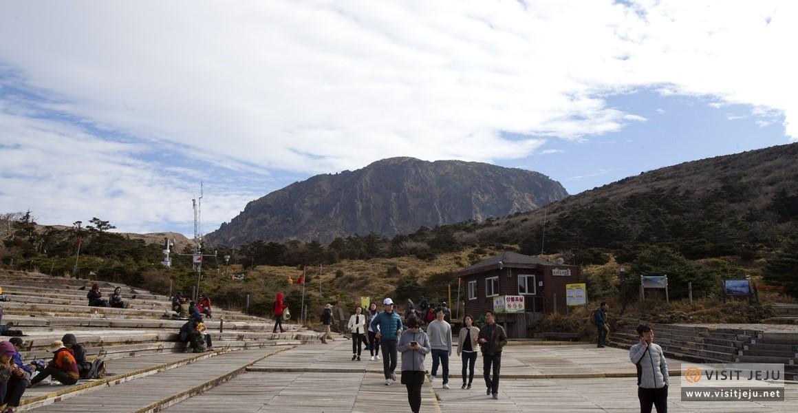 Đường mòn Eorimok tại núi Hallasan