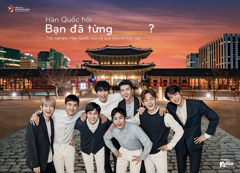 """Poster """"Hàn Quốc hỏi. Bạn đã từng …?"""" của Tổng cục du lịch Hàn Quốc"""