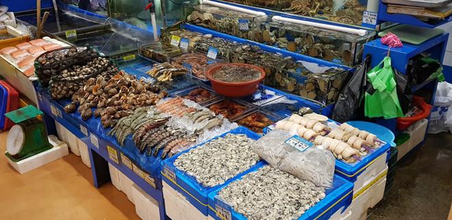 Chợ buôn bán hải sản Noryangjing