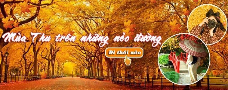 Du lịch mùa thu Hàn Quốc