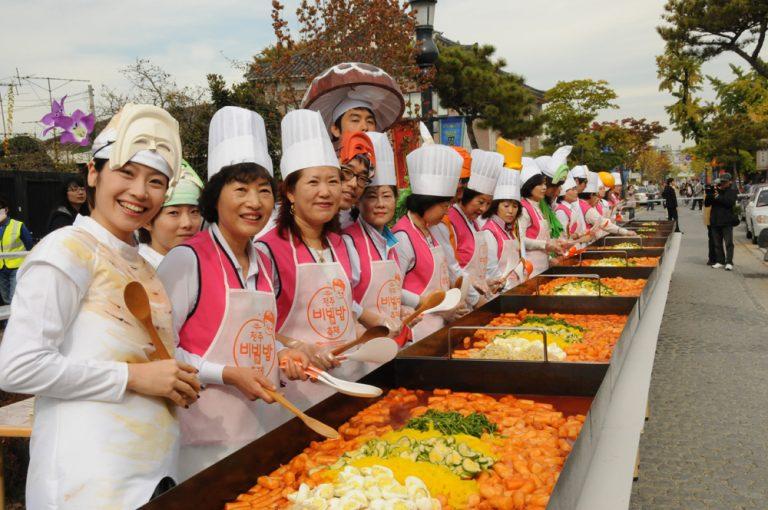 Lễ hội ẩm thực Jeonjoo mùa thu – Hàn Quốc