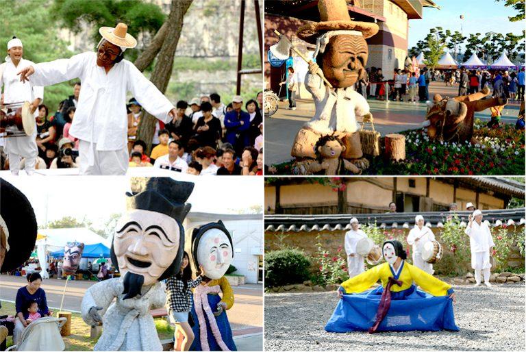 Lễ hội múa mặt nạ ở Andong – Hàn Quốc