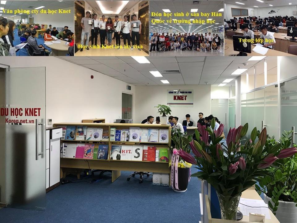 Hình ảnh văn phòng cty du học Knet